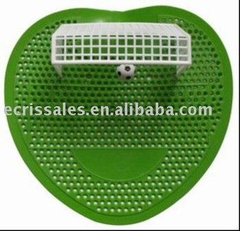 ali express urinal screen soccer style with goal net Bigger Ads