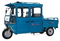 three wheel electric cargo for 2 passengers