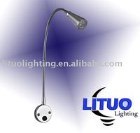 220~230V AC 3W or 1W LED flexible reading light