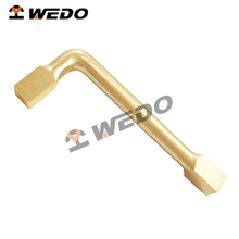 Professional OEM manufacturer ATEX UKAS GS FM ISO9001 Certificate die-forged NON-SPARKING NON-MAGNETIC Square Key Wrench