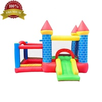 New Best Price Nylon Inflatable Bounce Round Dubai Halloween Jumping Castle