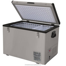 80L ACDC outdoor solar potable mobile car freezer/camping freezer/RV freezer Freezer & Fridge
