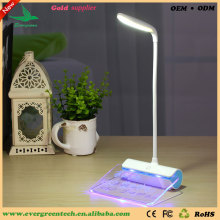 Evergreentech Newest Design Rechargeable Desk Lamp Message Led Light