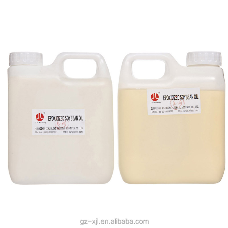 Factory Price Epoxidized Soybean Oil ESO ESBO PVC Liquid Plasticizer and Transparent Sheet Stabilizer for PVC Processing