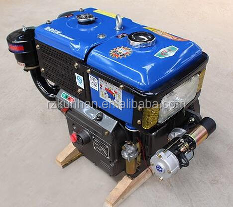 China Hot selling Single Cylinder Four stroke water cooled 15hp diesel engine 15 hp