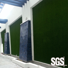 outdoor pp plastic synthetic turf artificial grass wall decoration