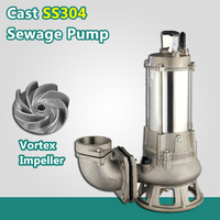 Industrial high output water pumps submersible sewage pumps