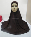 H306 big size muslim hijab with flower prints,islamic scarf