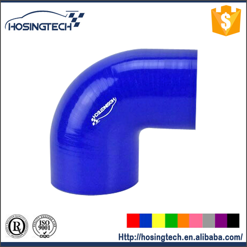 "HOSINGTECH -- reducer hose ID 5""-4"" (127mm-102mm) 90degree turbo intercooler silicone hose"
