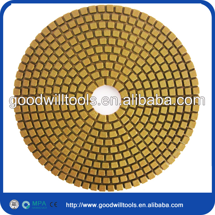 fast delivery diamond wet marble polishing pads