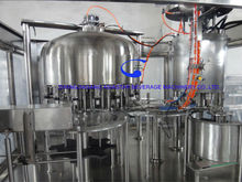 2 in 1 small fruit pulp juice filling capping machine