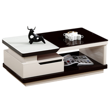 Latest Design Home Furniture LCD Wall Unit Led Light TV Stand