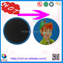 Reversible or irreversible color changing sticker temperature