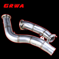GRWA Exhaust Stainless Steel Downpipe For BMW M3 M4 F80 F82