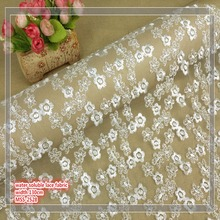 Garment And Bag 3D Embroidered Mesh Lace