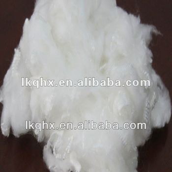 modified polyester fiber instead of acrylic fiber