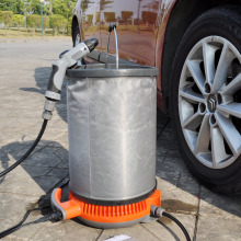 12V High pressure car cleaner with multifunctional gun, portable air conditioner cleaning kit