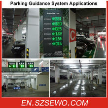 Parking Guidance System Ultrasonic Occupancy Sensor/Car Park Guidance System/Parking System Solutions