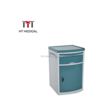 High Quality Hospital Movable ABS Bedside Storage Cabinet