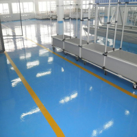 Thick Gray Waterproof Floor Coating