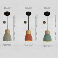 Factory Supply Cement Pendant Light Fancy