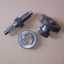Steel custom transmission gear and shaft for automobile and motorcycle