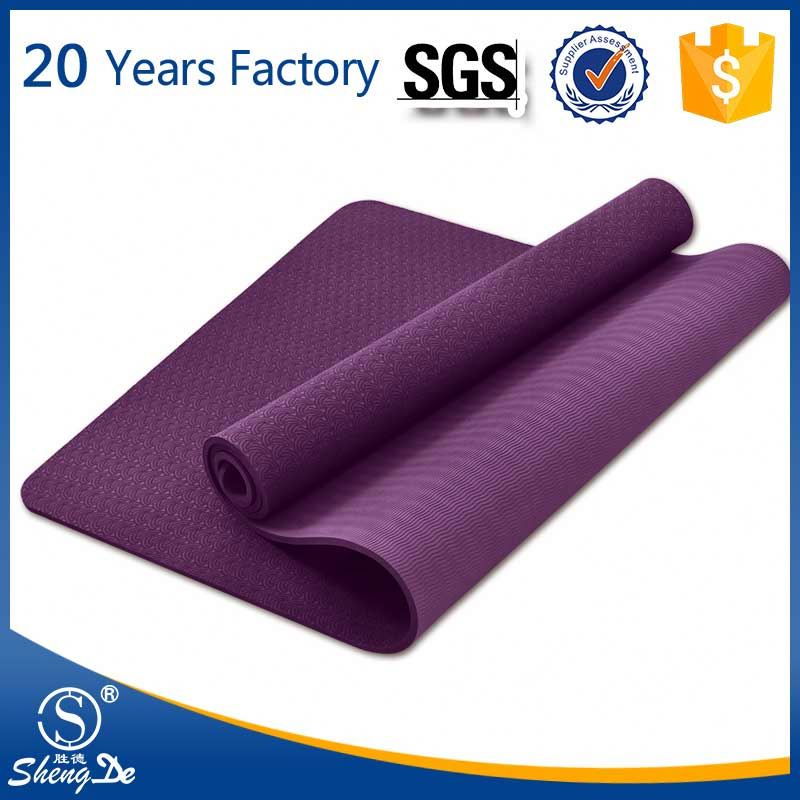 Fitness Equipment Body Building Fitness Digital Printed Yoga Mat
