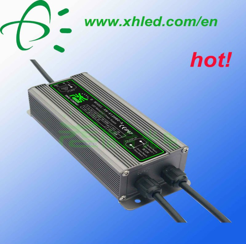 60w good quality 12v 5a led dc regulated power supply