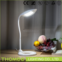 Good quality CE RoHs approval flexible snake led reading lamp table lamp with power outlet