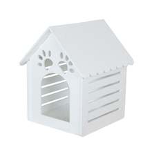 Super grade top quality outdoor large dog house environmental prefab dog house fashion plastic dog house