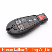 Good quality car remote smart key with 5+1 button auto key for SYC02008 Chrysler car