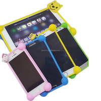 wholesale custom cheap universal mobile phone cases/plain cute 3d silicone cell phone cases