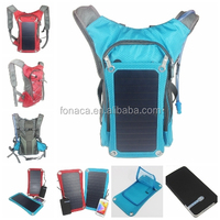 Newest design and fashionable Solar Sports Bag, Solar power backpack bags