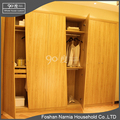 6 doors unique plywood bedroom wardrobe