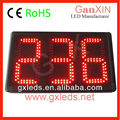 Outdoor 3 digit digital wall clock second counter