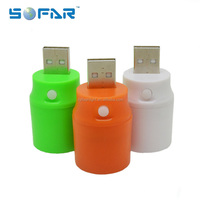 Emergency Torch Light Portable Color Charging