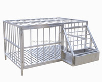 Dog Pet House Cage Stainless Steel