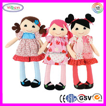 A884 Shenzhen Make Vintage Tribe Doll Stuffed Rag Girl Hot Sale Doll Factory
