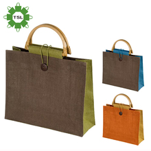 Eco-Friendly used personalized large tote shopping bag,jute gunny bags with different sizes