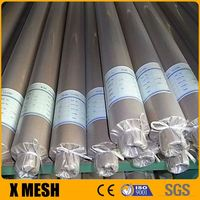 Hot Dipped Galvanized Stainless Steel Wire Mesh Cloth , Stainless Steel Woven Wire Mesh Screen