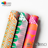2016 Double Side Printed Paper Wrapper Gift Wrapping Paper