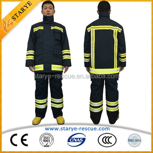 Emergency Rescue Using High-Performance Heat Insulation Suit