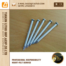 concrete steel nail 45# smooth or flume shank Tianjin Lituo
