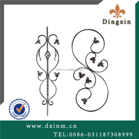 Metal door inserts used wrought iron fencing for sale