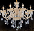 Hot selling elegent crystal decoration chandelier on Alibaba