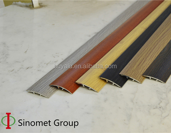 Aluminium edge tile trim floor trim transition strip for decoration