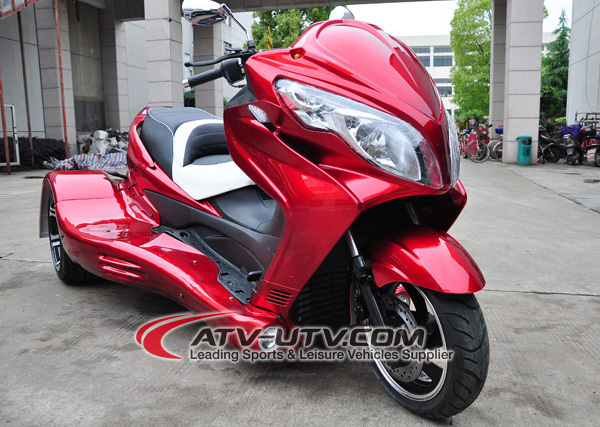 Factory Direct Sell 300cc automatic motorcycle 3 wheel trike bike AT3002