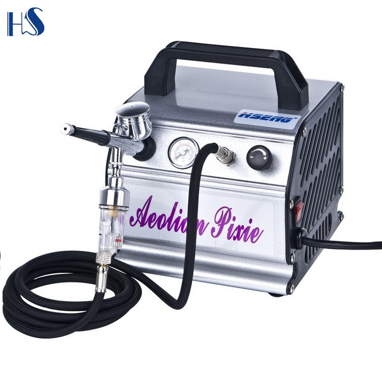 AS176K Portable Airbrush Compressor For Temporary Tattoo