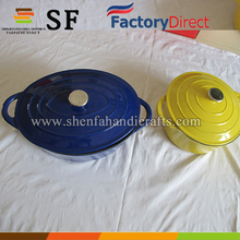 Hebei Enameled Coated Cast Iron Cookware