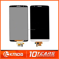Original new mobile phone repair parts for lg g3 lcd screen with Frame